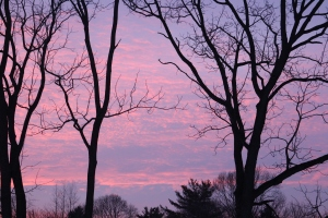 Abington sunset 2015-02-24 17.56.39